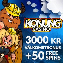 Konung Casino välkomsterbjudande