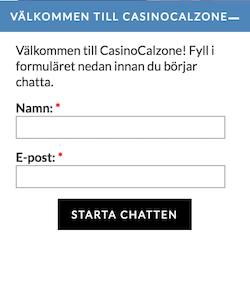 Chat hjalp casino