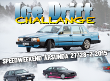 banner ice drift challange