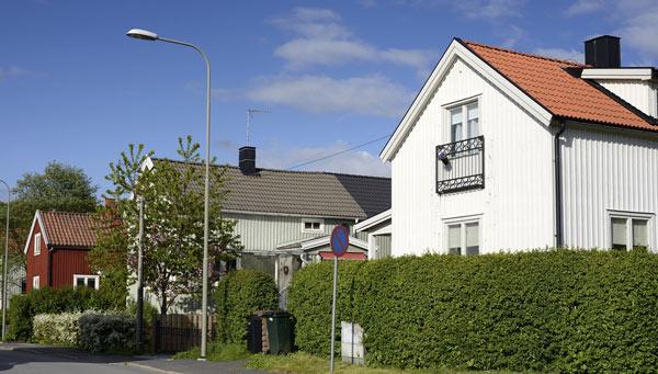 villor med tegeltak i Stockholm