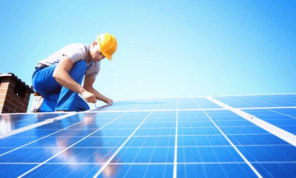 tak med solceller