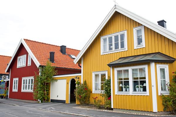 villatak i Stockholm