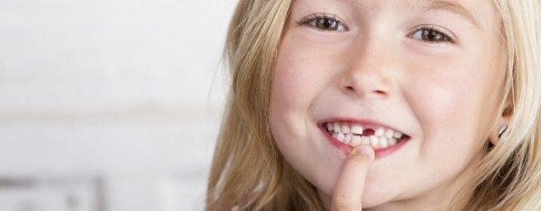 barn som tappat tanden