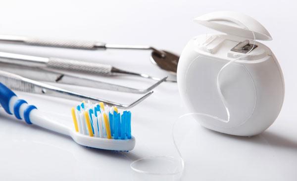 en tandhygienists redskap