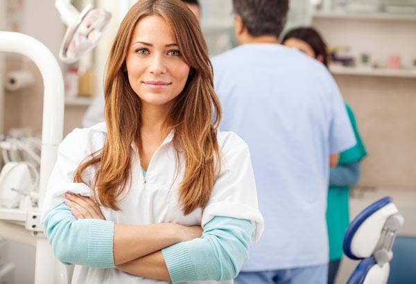arbetskläder för tandläkare