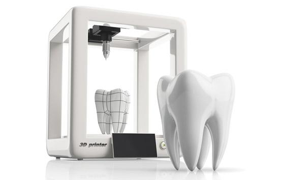 3d-printade tänder