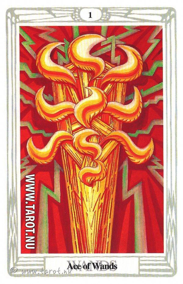 Ess i Stavar - (Ace of Wands)