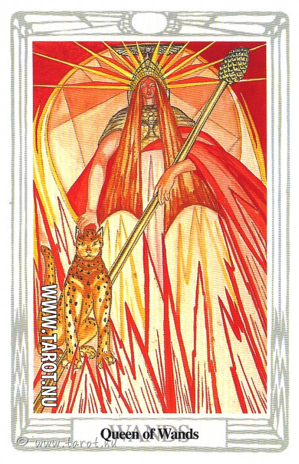 Drottning i Stavar - (Queen of Wands)