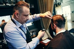 barberare, klippning