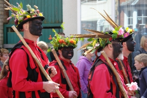 Clun Green Man Morris Men