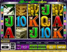 Break da Bank @ SunVegas Casino