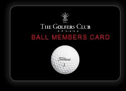 TGCボールメンバーカード
