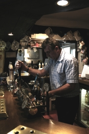 Steve at hand pumps