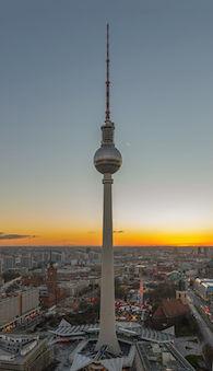 TV-tårnet Berliner Fernsehturm
