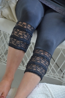 Agnes Leggings -Dark grey