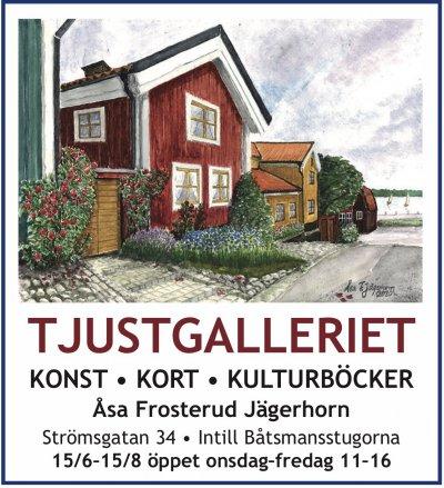 Tjustgalleriet Västervik sommaröppet