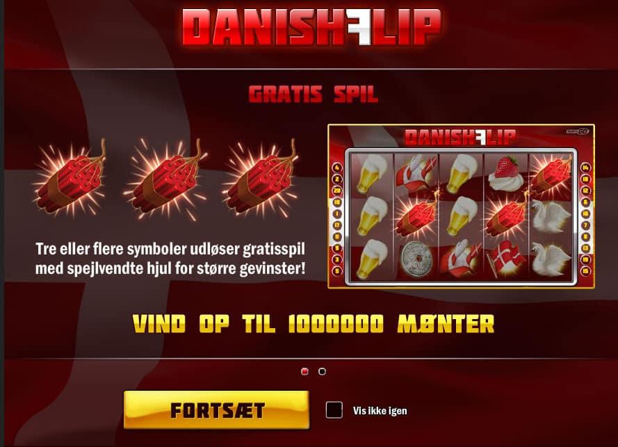 Danish Flip toponlinecasinoer.dk maria casino
