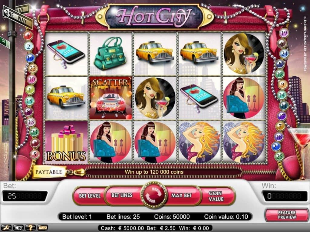 Hot City toponlinecasinoer