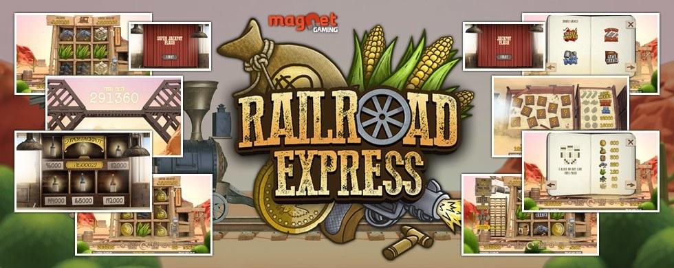 Railroad Express spilleautomat