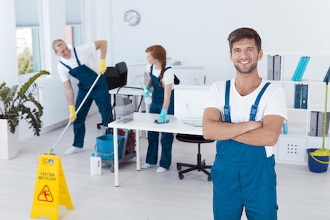 Kompetenta städare från städfirma