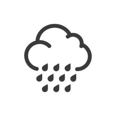 Rain cloud-icon