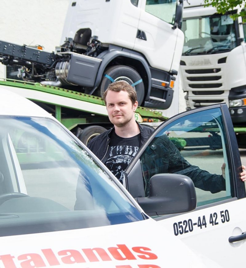 Vi hjälper till med service och reparation av truckar i Västra Götaland.