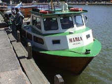 m/s Maria Hakaniemen laiturissa