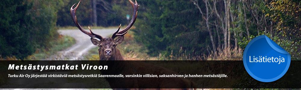 Metsästysmatkat Viroon