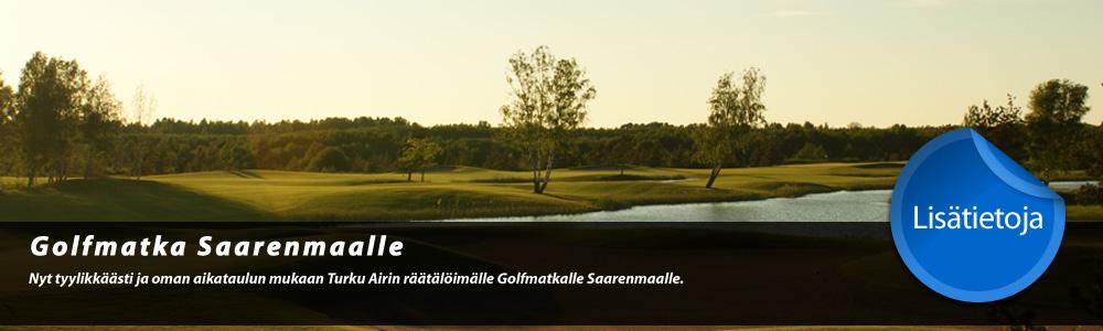 Golfmatka Saarenmaalle