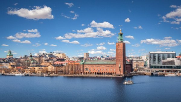 Översiktsbild över Stockholm