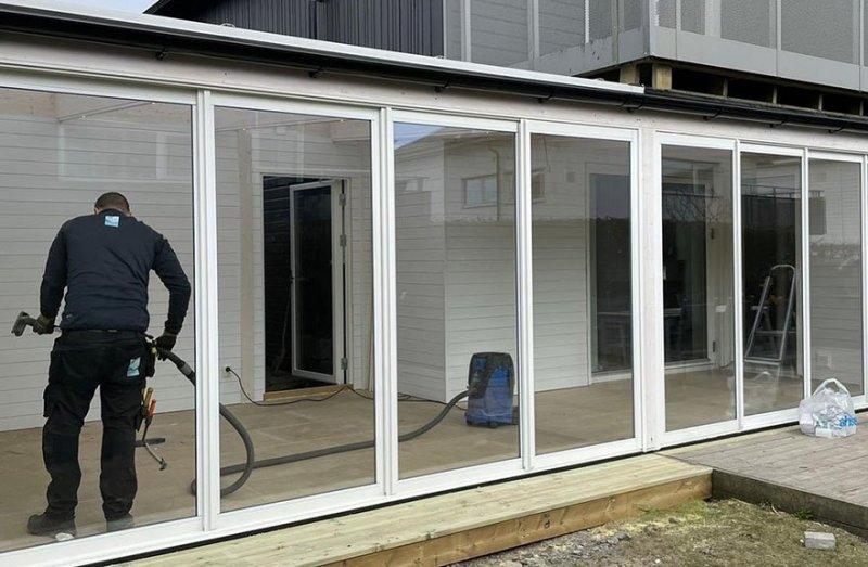 Vi har stor erfarenhet av att bygga uterum i Kungsbacka.