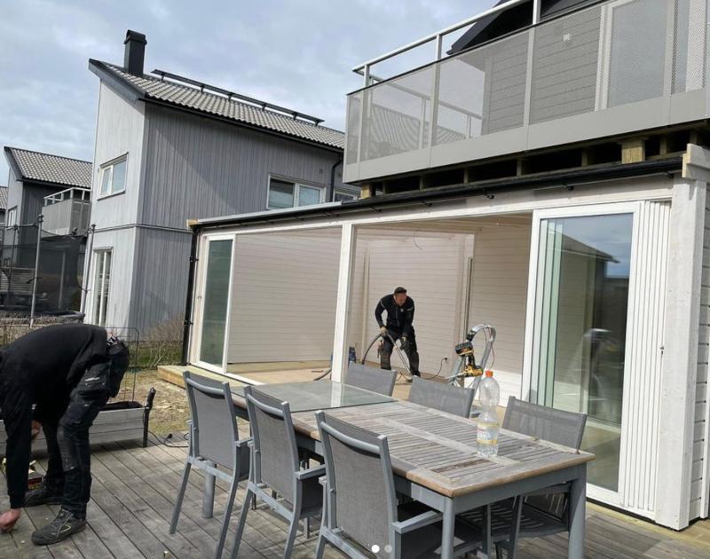 Vi är din lokala firma som bygger uterum i Göteborg året runt.
