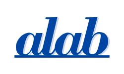 Alab logo.