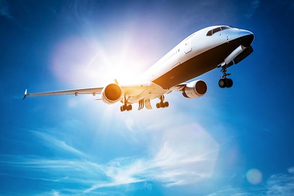 flygplan transport