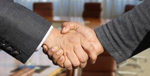 handslag, affärer, M&A