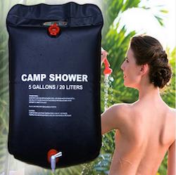 Portabel dusch
