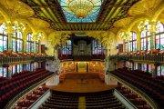 Palau de la Música Catalana inifrån