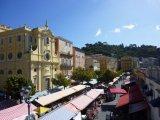 Cours Saleya från ovan