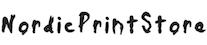 Nordic Print Store logotyp