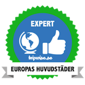 Badge Expert - Europas huvudstäder