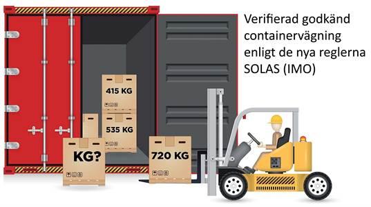 väger container