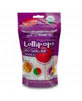 Lollipops Sin Azúcar Orgánico 62g