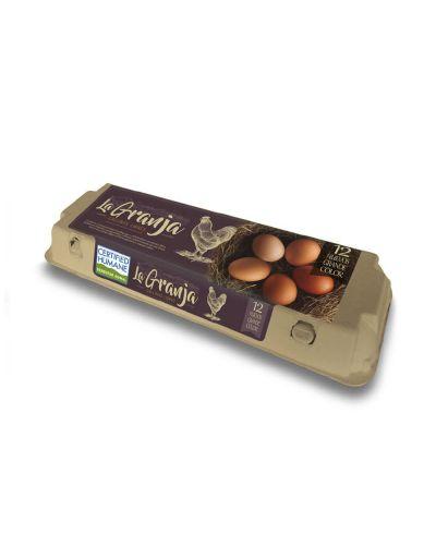 Huevos Gallinas Libres Certificados 12un.