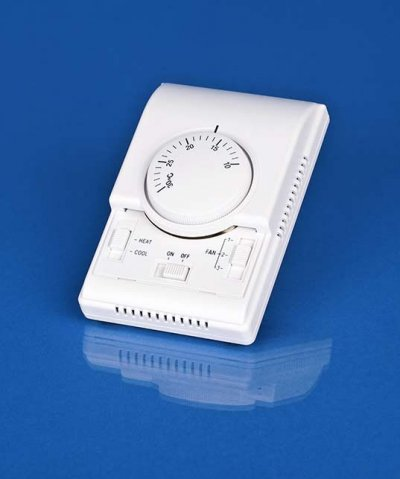 Mechanical Room Thermostat, 3-Speed, Heat-Off-Cool,MRT 31A
