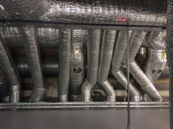 ventilation Stockholm installation