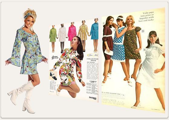 klädstil 60 talet
