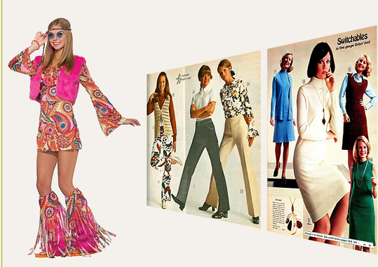 200e8ab40f1d Trender i kvinnor mode mellan 1970-79.