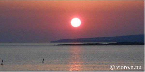 /Solnedgång på Cypern