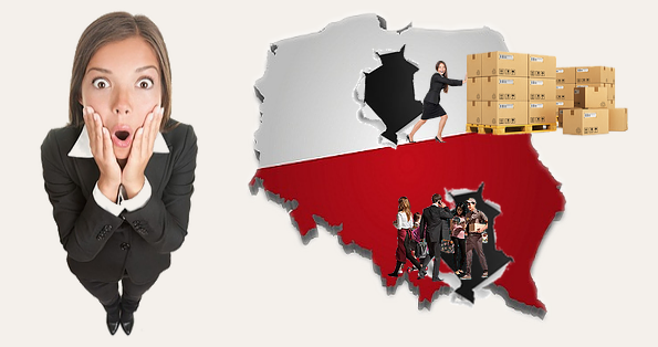 Köpa varor eller beställa tjänster från Polen
