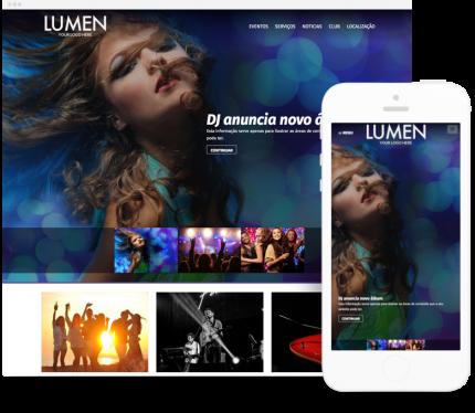 Lumen site para Discotecas
